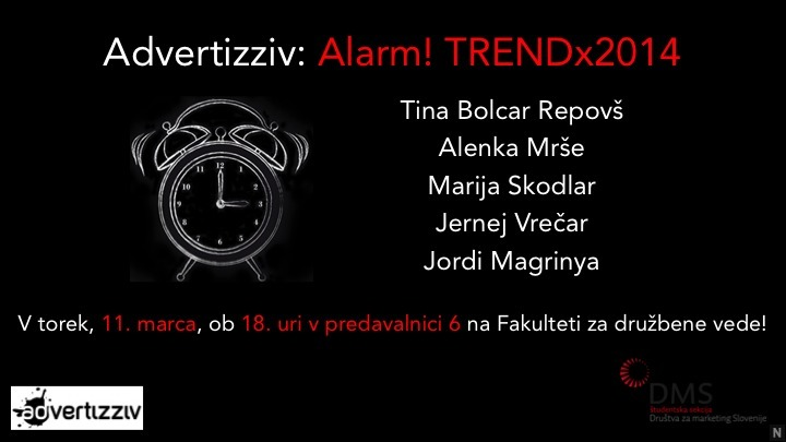 Advertizziv: Alarm! TRENDx2014