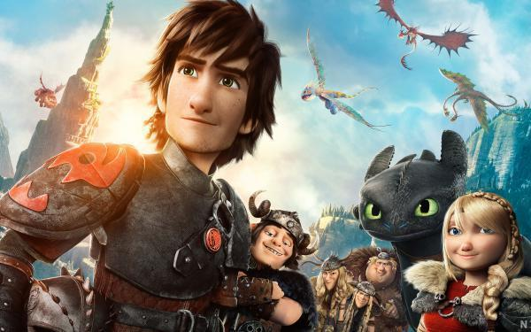 Kako izuriti svojega zmaja 2 (2D)	 (How to Train Your Dragon 2)