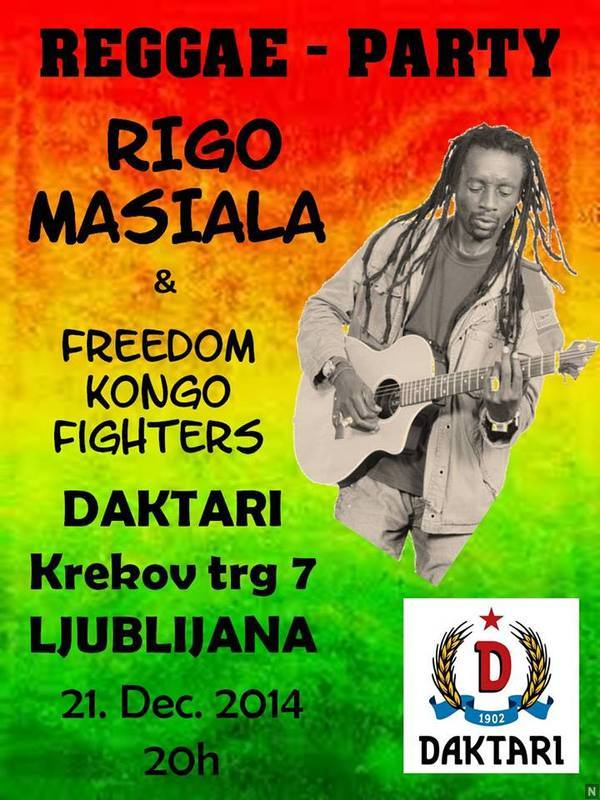 Rigo Masiala & Freedom Kongo Fighters