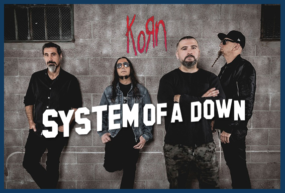 System of a Down・Korn