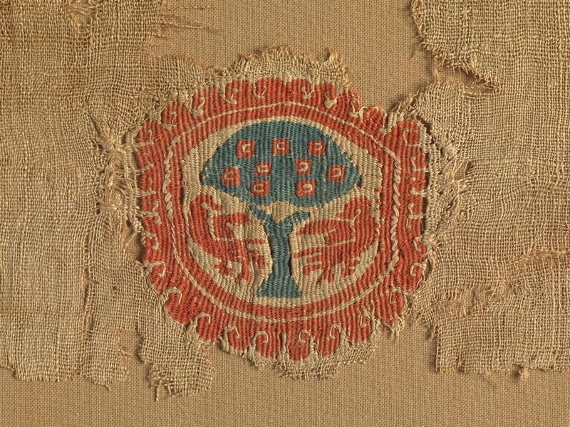 Vodeni ogled razstave Koptske tkanine