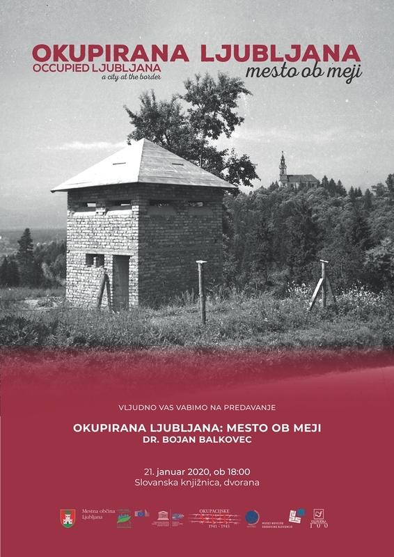 Okupirana Ljubljana, mesto ob meji