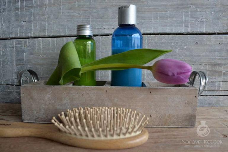 Izdelava šampona in balzama za lase,narav. nega MB