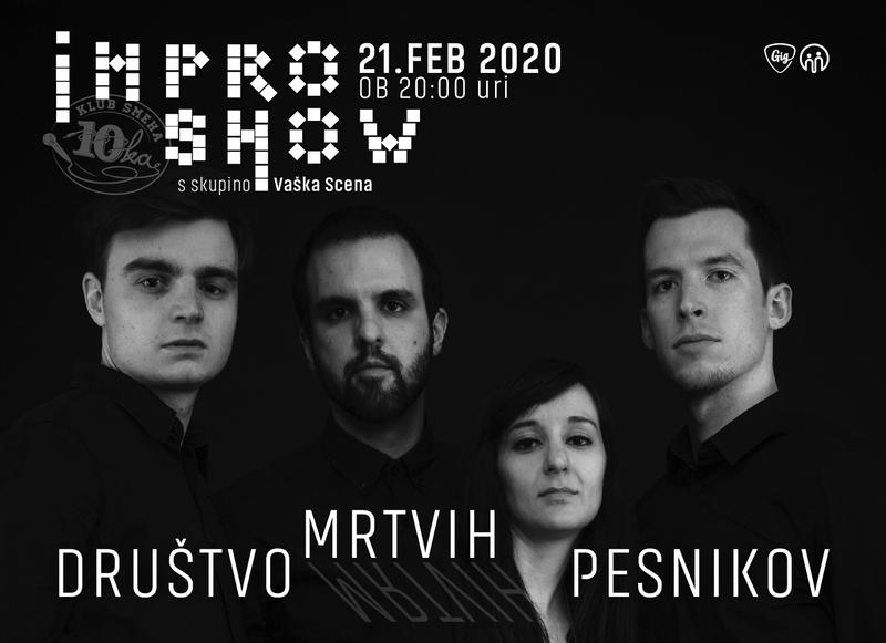 Impro Show #4 - Društvo Mrtvih Pesnikov